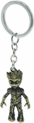 the salespark Guardians of The Galaxy Superhero Baby Groot Key Chain