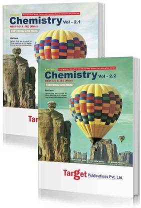 NEET UG / JEE Mains Absolute Chemistry Books Vol 2.1 And 2.2 For 2021 Medical & Engineering Entrance Exam | Chapterwise Solved MCQs | Topicwise Tests | Best Study Material For NEET & JEE | 2 Books