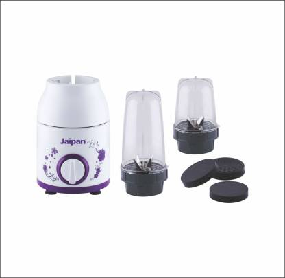 Jaipan Nutri maxx - 450 Juicer Mixer Grinder (2 Jars, White)