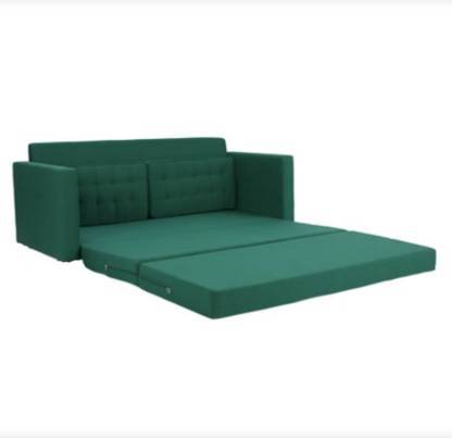 Westido Double Solid Wood Sofa Bed   Finish Color   Green Mechanism Type   Fold Out  Westido Furniture