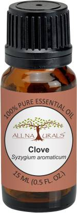 All Naturals Clove Essential Oil 15ML 100% Pure for Toothaches, Joints Pain