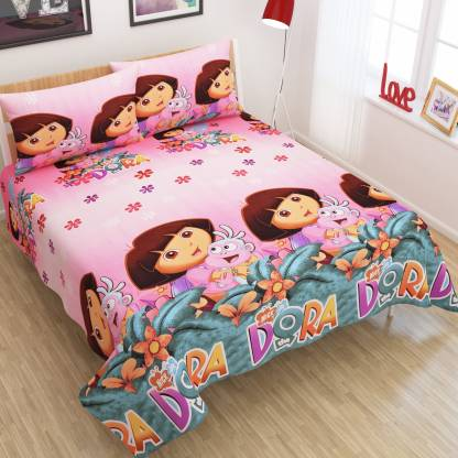 Dtex 260 TC Cotton Double Printed Bedsheet