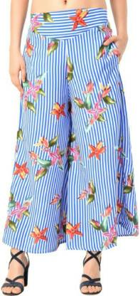 Rangmor Relaxed Women Multicolor Trousers