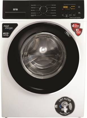 IFB 6.5 kg 5 Star Fully Automatic Front Load with In-built Heater White