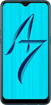 OPPO A7 (Glaze Blue, 64 GB)