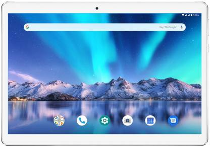 Lava Magnum-XL 16 GB 10.1 inch with Wi-Fi+4G Tablet (Silver)