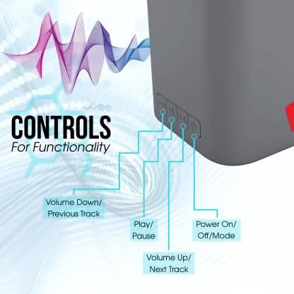 iBall Musi Cube X1 3 W Bluetooth  Speaker