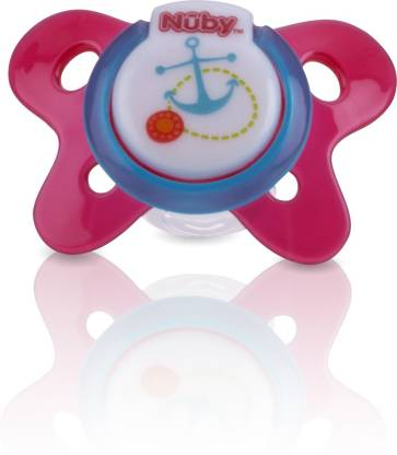 Nuby Natural Flex Pacifier for your baby 0-6 Months (Green Monkey) Teether