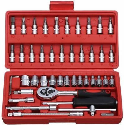 Nimegh 46 in 1 Pcs Tool Kit Vehicle Tool Kit