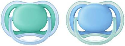 Philips Avent Ultra Air Pacifier for Boy, 6-18 Months Soother