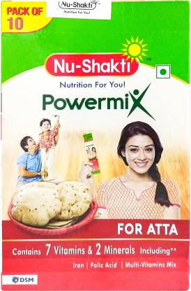 Nu-Shakti Powermix for Atta 50 g