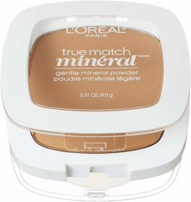 L'Oréal Paris True Match Mineral Pressed Powder, Sand Beige, 0.31 Ounce [CAT_1 Compact
