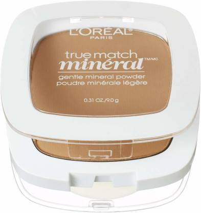 L'Oréal Paris True Match Mineral Pressed Powder, Sun Beige, 0.31 Ounce [CAT_11 Compact
