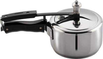 3-Liter Vinod 3L Stainless Steel Inner Lid Sandwich Bottom Pressure Cooker
