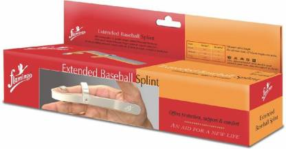 FLAMINGO Extended Baseball Splint Finger Support