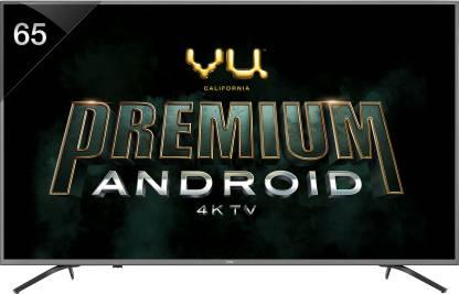 Vu Premium Android 163cm (65 inch) Ultra HD (4K) LED Smart TV