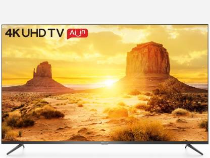 iFFALCON by TCL AI Powered K3A 138.78 cm (55 inch) Ultra HD (4K) LED Smart Android TV with Super Narrow Bezzel