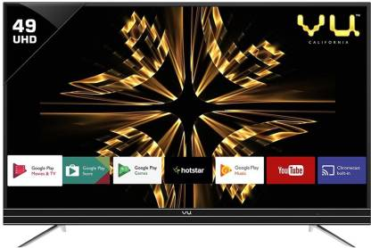 Vu 124 cm (49 inch) Ultra HD (4K) LED Smart Android TV