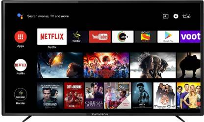 Thomson 163.89 cm (65 inch) Ultra HD (4K) LED Smart Android TV with Netflix