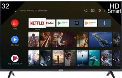 iFFALCON by TCL 79.97cm (32 inch) HD Ready LED Smart Android TV with HDR 10 And Google Assistant  (32F2A) thumbnail