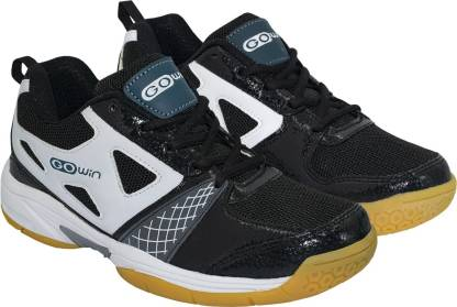 GOWIN STAUNCH BLACK / WHITE Badminton Shoes For Men
