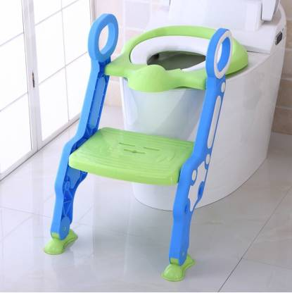 GOCART Potty Training Seat, with Step Stool Ladder for Kids and Baby, Non-Slip Kids Toilet Training Seat, Toddlers Potty Ring for Round and Oval Toilets Potty Seat