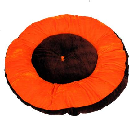 RK PRODUCTS 6 brwon with orange patti S Pet Bed