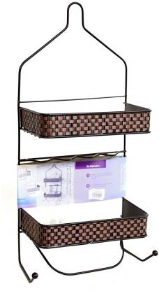 ANH MART Bathroom Shower Caddy Shelves Hanging Caddy for Tall Shampoo and Conditioner Bottles and Other Stainless Steel Wall Shelf