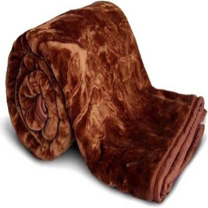 MAGICAL Floral Single Mink Blanket
