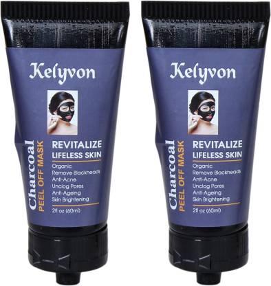 Kelyvon Bamboo Charcoal Face Mask 120ml