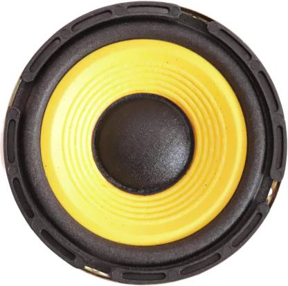 Electronic Spices 5'' inch woofer Audio Speaker 4ohm 50w HI-FI Speaker Sound Bass (Yellow) Subwoofer