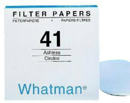 whatman Qualitative Filter Papers Grade 41:46x57 cm (white) pH Yellow Litmus Papers(Pack of 100)