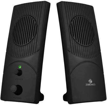 Zebronics ZEB S300 Laptop/Desktop Speaker Black, 2.0 Channel