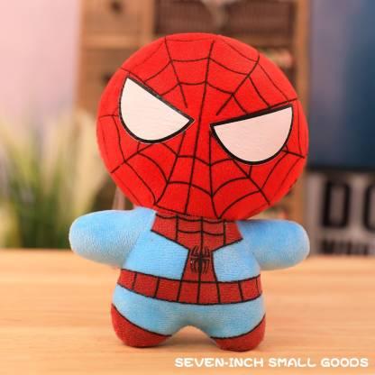 Kaira toys Motu patlu (30 CM) & Spiderman (40 CM) kids playing soft toy teddy bear (Multicolor) - 40 cm(Multicolor)