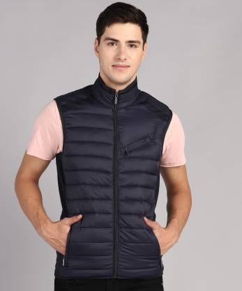 Arrow Sports Sleeveless Solid Men Jacket