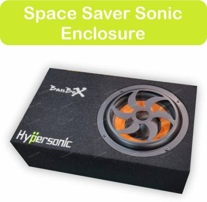 Hypersonic SPACE SAVER ENCLOSURE 1200 WATTS HIGH OUT PUT BASS SPACE SAVER SONIC ENCLOSURE 1200 WATTS HIGH OUT PUT BASS Subwoofer