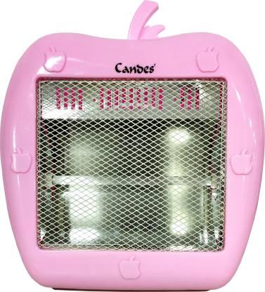 Candes QH400W Apple Pink Quartz Room Heater