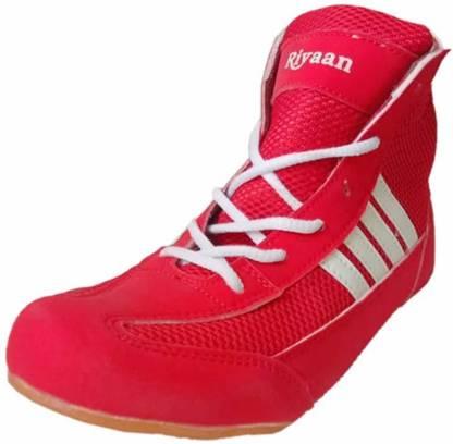 Boxing & Wrestling Shoes For Men(Red)