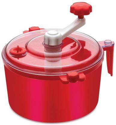 Gi-Shop Plastic Manual Automatic Atta Roti Dough Maker- for Home (Red) Dough Maker
