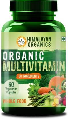 Himalayan Organics Organic Multivitamin with 60+ Certified Organic Extracts