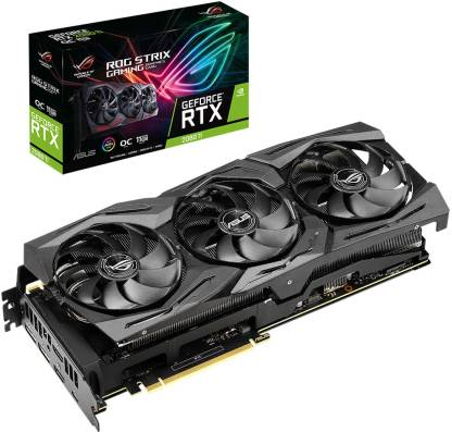 ASUS NVIDIA ROG-Strix-RTX2080TI-O11G-Gaming 11 GB GDDR6 Graphics Card