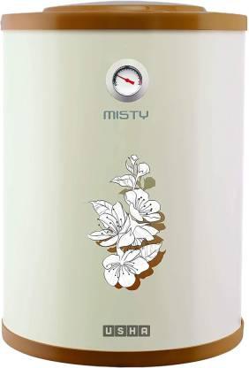 USHA 25 L Storage Water Geyser (Misty, Ivory Cherry Blossom)