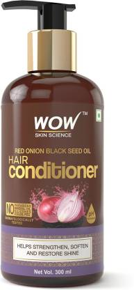 WOW SKIN SCIENCE Red Onion Black Seed Oil Hair Conditioner with Red Onion Seed Oil