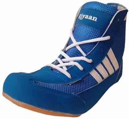 Boxing & Wrestling Shoes For Men(Blue)