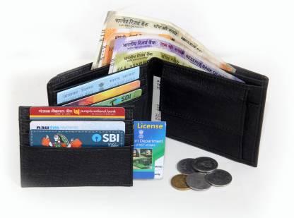 Zigmo Boys Black Genuine Leather Wallet