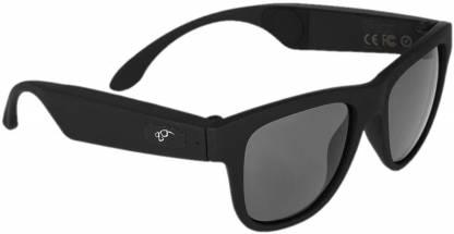 OPTA SG-054 Bone Conduction Polarized Bluetooth Audio Sunglasses (Black)