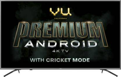 Vu Premium Android 108cm (43 inch) Ultra HD (4K) LED Smart Android TV with Cricket Mode  (43-OA) thumbnail