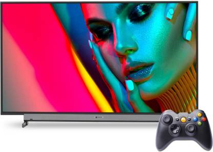 MOTOROLA ZX 109 cm (43 inch) Ultra HD (4K) LED Smart Android TV with Wireless Gamepad