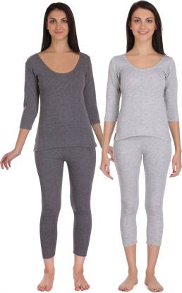 Selfcare Winter Collection Women Top - Pyjama Set Thermal