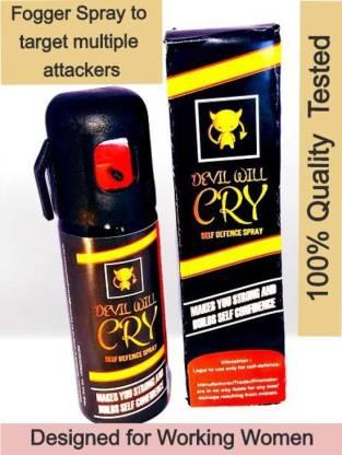 "GETSUGA STRONGEST PEPPER SPRAY ""DEVIL WILL CRY"" for WORKING WOMEN Pepper Fogger Spray"